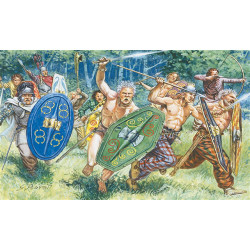 ITALERI Gaul Warriors 1st-2nd Cty B.C. C 6022 1:72 Figures Kit