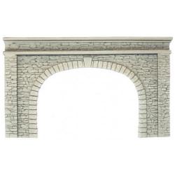 NOCH Double Track Natural Stone Hard Foam Tunnel Portal HO Gauge Scenics 58062