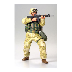 TAMIYA 36308 Modern US Desert Infantryman 1:16 Military Model Kit