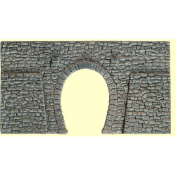 NOCH Single Track Quarrystone Hard Foam Tunnel Portal HO Gauge Scenics 58247