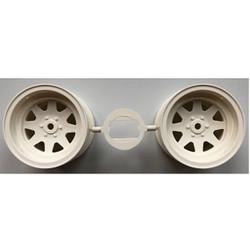 TAMIYA 445095 Rear Wheel (x2) Grasshopper II