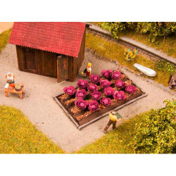 NOCH Red Cabbages (16) Deco Minis HO Gauge Scenics 13218