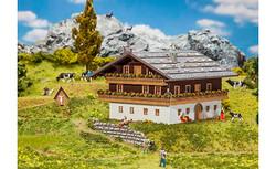 FALLER Alpine Farm Model Kit I HO Gauge 130554