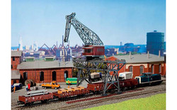 FALLER Gantry Crane Model Kit (80mm Clearance) III HO Gauge 120163