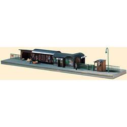 PIKO Temporary Railway Station Kit N Gauge 60028