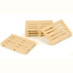 TAMIYA CARSON Parts Euro Pallet Set Plastic/beige C907049 500907049