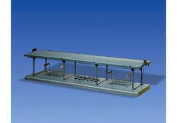 FALLER Covered Platform Model Kit w/ Illumination and Exit I HO Gauge 120181