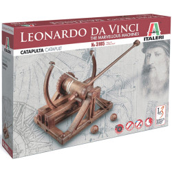 ITALERI Catapult - Marvellous Machines 3105 Leonardo Da Vinci Model Kit