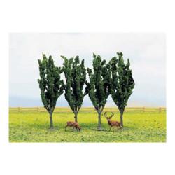 GAUGEMASTER Tree Set - Poplar (3) OO Gauge Scenics GM186