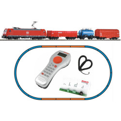 PIKO SmartControl Light DBAG BR185 Starter Set VI (DCC-Fitted) HO Gauge 59004