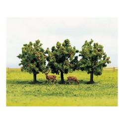 GAUGEMASTER Tree Set - Apple (3) OO Gauge Scenics GM183