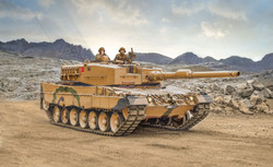 ITALERI Leopard 2A4 6559 1:35 Tank Model Kit
