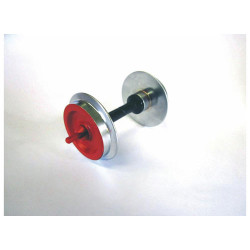 PIKO Metal Wheelsets Red 30mm (2) G Gauge 36166