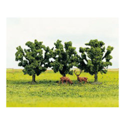 GAUGEMASTER Tree Set - Fruit (3) OO Gauge Scenics GM182