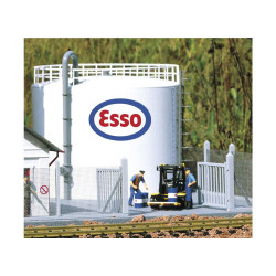 PIKO Esso Oil Depot Storage Tank (Low) Kit G Gauge 62039