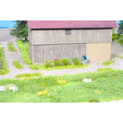 GAUGEMASTER Grass Tufts - Flowering (108) OO Gauge Scenics GM138