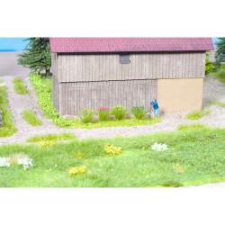 GAUGEMASTER Grass Tufts - Flowering (108) OO Gauge Scenics GM138