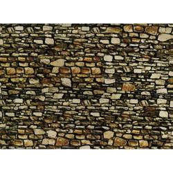 NOCH Dolomite Wall Card 64x15cm HO Gauge Scenics 57710