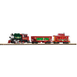 PIKO Christmas Freight Starter Set G Gauge 37105