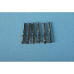 GAUGEMASTER Hornby Type Crimped Pin Terminals (6) GM14