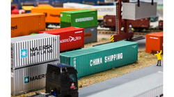 FALLER China Shipping 40' Hi Container V HO Gauge 180844