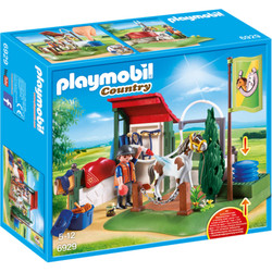 PLAYMOBIL Horse Grooming Station - Country 6929