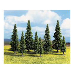 GAUGEMASTER HORNBY SCALEXTRIC 25 X Trees Spruce OO Gauge Scenics GM125
