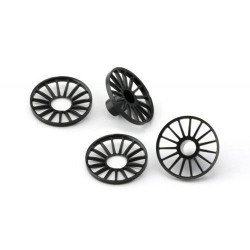 SLOT.IT Wheel Inserts Kit For 4WD System 17.3mm (2+2) SIPA69