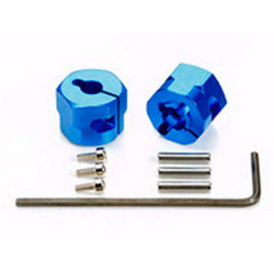 TAMIYA 54610 Clamp Type Alum Wheel Hub - 9mm Thick - 2pcs - RC Hop-ups