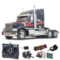 TAMIYA RC 56314 Knight Hauler US Truck 1:14 Kit + radio bundle