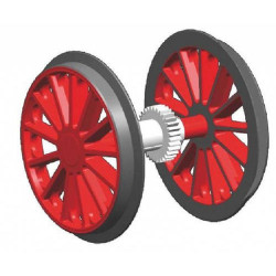 PIKO Traction Wheelset for BR194 G Gauge 36179