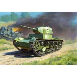 ZVEZDA 6113 Soviet Light Tank Snap Kit Model Kit 1:100