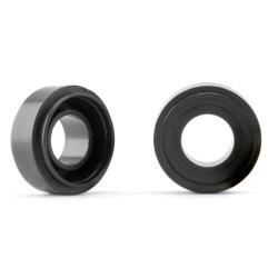 SLOT.IT 16.5mm Diameter Plastic Front Wheels 4WD (2) SIPA73