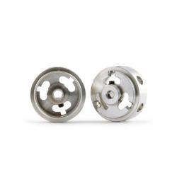 SLOT.IT Mg 16.9x8.2x1.5mm Hollow Wheels M2 Grub 0.78g (2) SIW16908215M