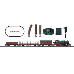 TRIX Minitrix DB BR74 Freight Starter Set III (DCC-Fitted) HO Gauge M21528