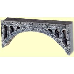 NOCH Rhone Viaduct Hard Foam 37x3.2x15cm HO Gauge Scenics 58670