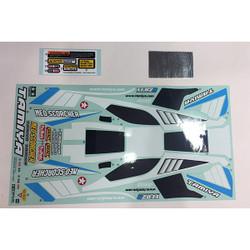 TAMIYA 58568 Neo Scorcher/TT02B, 9495798/19495798 Decals/Stickers
