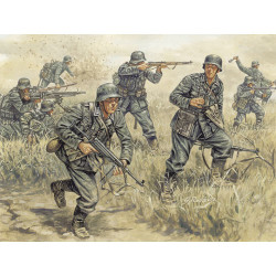 ITALERI German Infantry 6033 1:72 Figures Kit