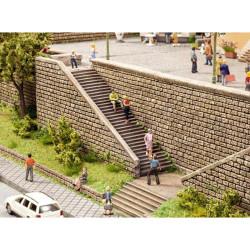 NOCH Stairway Hard Foam Kit HO Gauge Scenics 58303