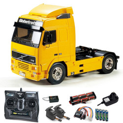TAMIYA RC 56312 Volvo FH12 Globetrotter 420 1:14 Truck Kit + radio bundle