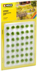 NOCH Green Grass Tufts Mini Set 6mm (42) HO Gauge Scenics 07032