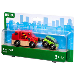 BRIO 33528 Tow Truck for Wooden Train Set