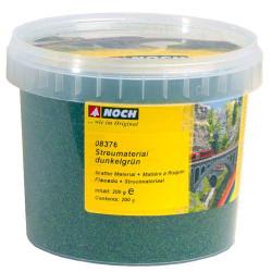 NOCH Dark Green Scatter Material (200g) HO Gauge Scenics 08376