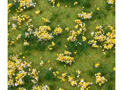 FALLER Yellow Flowering Meadow Landscape Segment 210x148x9mm HO Gauge 180467