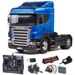 TAMIYA RC 56318 Scania R470 Highline Truck 1:14 Kit + radio bundle