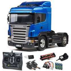TAMIYA RC 56318 Scania R470 Highline Truck 1:14 Kit + radio bundle