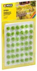 NOCH Field Plants Grass Tufts Mini Set 6mm (42) HO Gauge Scenics 07034