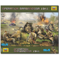 ZVEZDA 6134 Wargame Barbarossa 1941 Model Kit 1:72