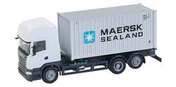 FALLER Car System Scania R13 TL Maerk Container Truck VI HO Gauge 161598