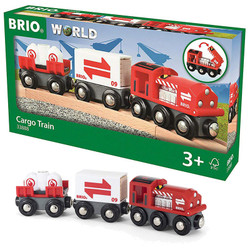 BRIO World 33888 Cargo Train for Wooden Train Set